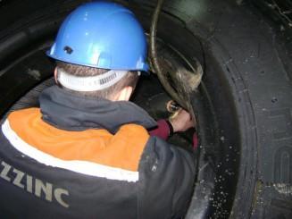 КАЗЦИНК, Республика Казахстан. Установка Системы контроля давления и температуры Schrader