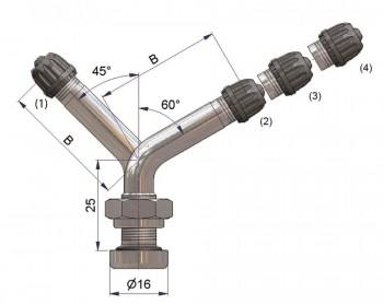 Вентиль латунный б/к  42132-68